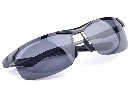 de N1 Gafas Guía hombre negro N2 gafas Gafas TIANLIANG04 de para hombre gafas de Gray hombre sol sol Turístico aluminio 4qAf5wgf
