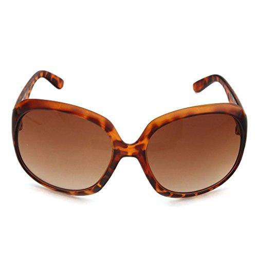 Léopard de nbsp;mm verres avec 64 soleil de inclinées Lunettes miroir surdimensionnés papillon PvYfq8