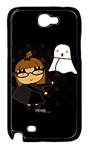 Samsung Galaxy Note II N7100 Cases & Covers - Buffy The Action Custom PC Soft Case Cover Protector for Samsung Galaxy Note II N7100 - Black
