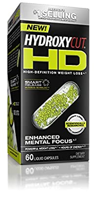 Hydroxycut High Definition Weight Loss Liquid Cap, 60 Count