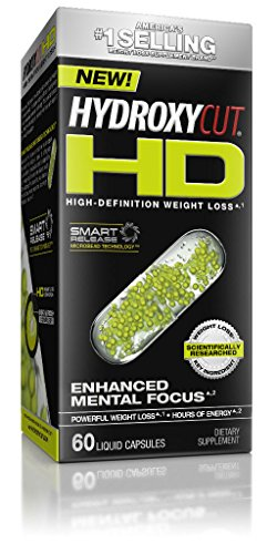 Hydroxycut HD, High-Definition Weight Loss, 60 Liquid Capsules Weight Lost Supplement