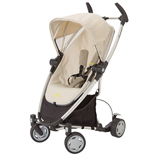 Quinny Zapp Xtra Stroller with Folding Seat, Natural Mavis by Quinny