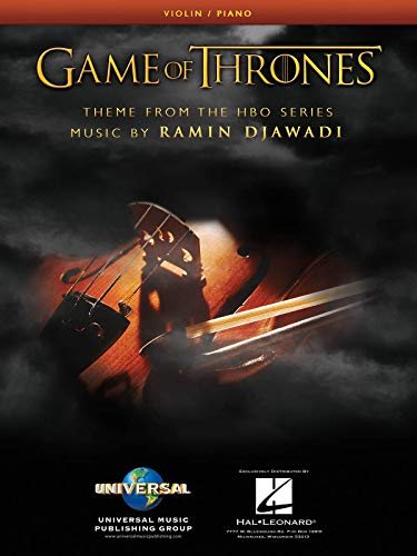 Game of Thrones Theme Arranged for Violin & Piano - Sheet Music Single