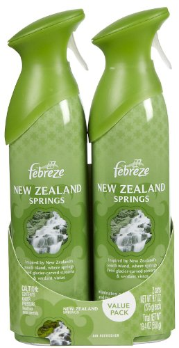 Febreze Air Effects New Zealand Springs, 2-Can Pack