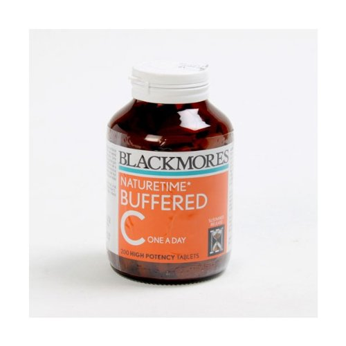 Blackmores Vitamins Buffered C 500mg. 75 Tablets. [Get Free Herbal lozenges] ()