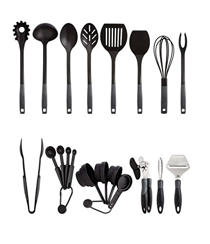Nylon Kitchen Utensils (Calphalon Kitchen Essentials Utensil & Gadget)