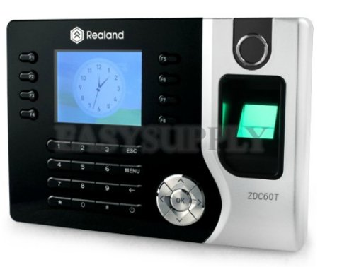 New Fingerprint Time Attendance System With TCP/IP+ID Card Reader +