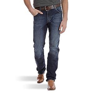 Wrangler Men's Retro Premium Slim Fit Straight Leg Jean