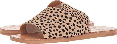 Dolce Vita Women's Cato Slide Sandal, Leopard Calf Hair, 9 M US