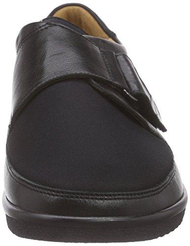 Pantofola Da Donna Inge-i Sensibile Al Ganter Nero (nero 0100)