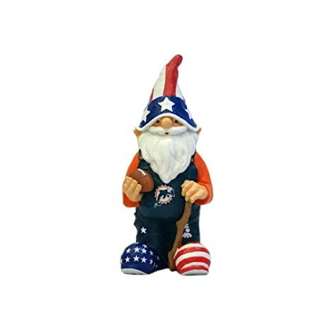 f029eebe2b2911 Miami Dolphins Garden Gnome 11 inch Patriotic: Amazon.ca: Tools & Home  Improvement