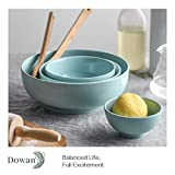 2 Packs, DOWAN Porcelain Serving Bowls, 2.8 Quarts
