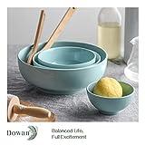 2 Packs, DOWAN Porcelain Serving Bowls, 2.8 Quarts