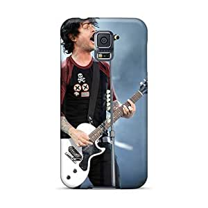 Samsung Galaxy S5 XwR6050ZUHT Allow Personal Design Colorful Green Day Band Series Perfect Hard Phone Case -ChristopherWalsh