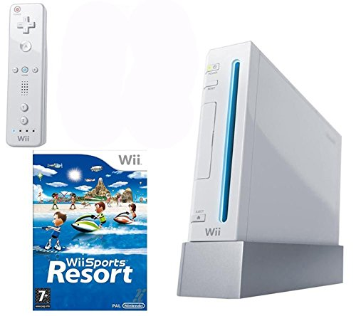 Nintendo Wii + Wii Sports Resort - juegos de PC (Wii, 512 MB ...