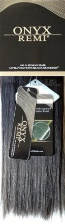 Black Diamond ONYX REMI 100% Human Hair  - 18
