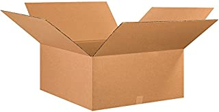 """product image for Partners Brand P262612 Corrugated Boxes, 26""""L x 26""""W x 12""""H, Kraft (Pack of 10)"""