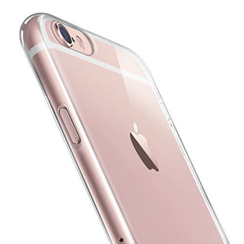 Orzly® - FlexiCase für Apple iPhone 6 PLUS & iPhone 6S PLUS (5,5-ZOLL Modell - 2014 & 2015 Versionen) - Flexible Silikon-Gel-Telefon-Kasten Schutz in 100% TRANSPARENT