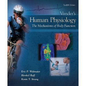 [Select Material From] Vander's HUMAN PHYSIOLOGY The Mechanisms of Body Function [[[CUSTOM EDITION FOR BOSTON UNIVERSITY