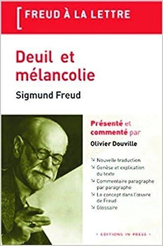 Livre gratuits en ligne Deuil et mélancolie pdf