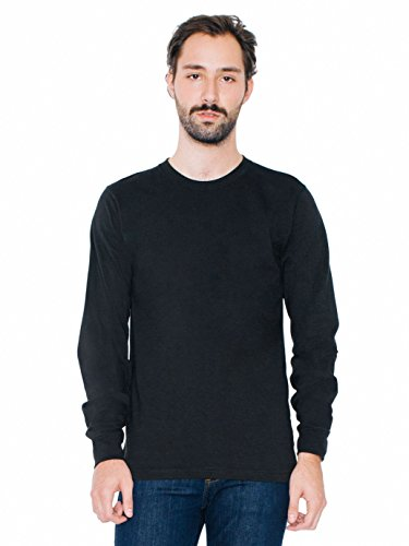 american-apparel-men-fine-jersey-crewneck-long-sleeve-t-shirt-size-l-black