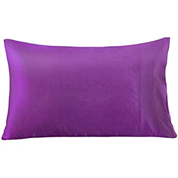 Amazon Com Mulberry Silk Pillowcase For Hair Amp Facial