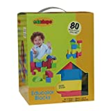 Edushape Educolor Building Blocks, Set of 80