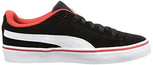 Puma 1948 Vulc - Zapatillas de Deporte Niños Negro (Black/White/Red)