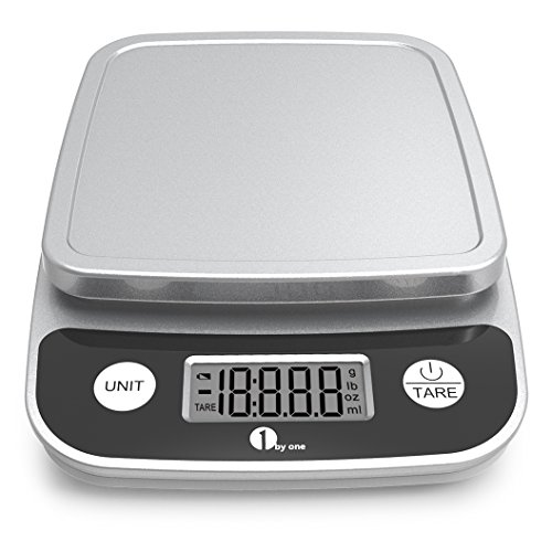 1byone Digital Kitchen Scale Precise Cooking Scale and Baking Scale,...