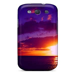 BzoJYQj8433VlyzH Case Cover Protector For Galaxy S3 Gorgeous Sunset Case