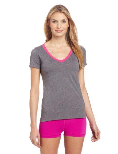 Zumba Fitness LLC Women's So Hot Solar V-Neck T-Shirt, X-...