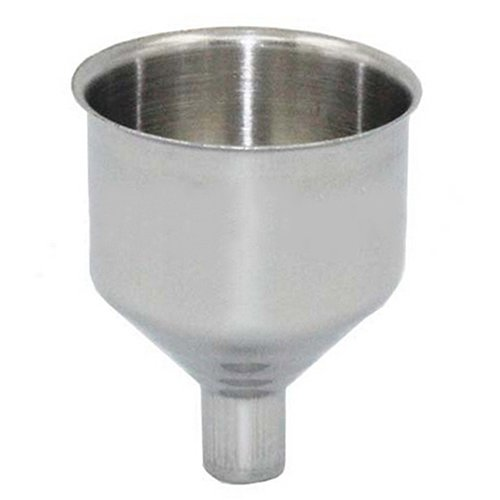 SoundsBeauty Portable Stainless Steel Wide Mouth Funnel for Hip Flask Wine Pot