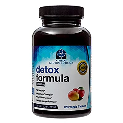 Colon Bowel Detox Cleanse Formula - Gentle Cleansing - African Mango (Irvingia Gabonensis) Colon Detox, Metabolism Boost, Natural Weight Loss, Digestive Health for Men and Women (120 Capsules)