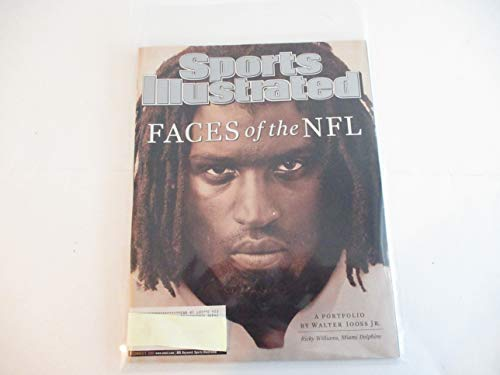 DECEMBER 9, 2002 SPORTS ILLUSTRATED MAGAZINE FEATURING THE FACES OF THE NFL RICKY WILLIAMS OF THE MIAMI DOLPHINS * A PORTFOLIO BY WALTER IOOSS JR.* ()