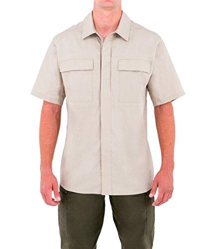 First Tactical Herren Specialist Kurzarm BDU Shirt Khaki