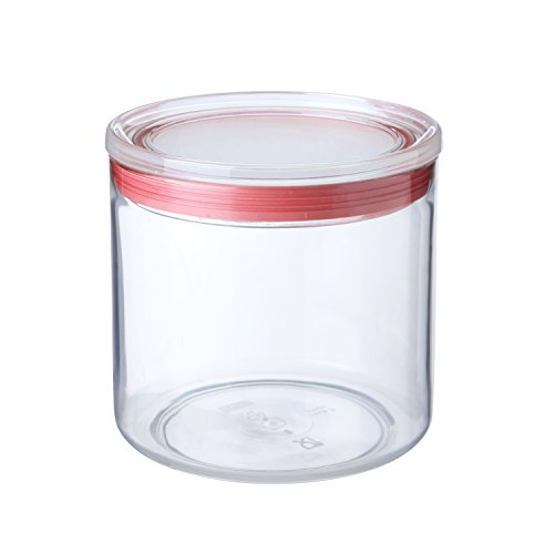 Tatay 1125109 Vorratsdose mit Deckel, luftdicht, 1 l, BPA-frei, transparent