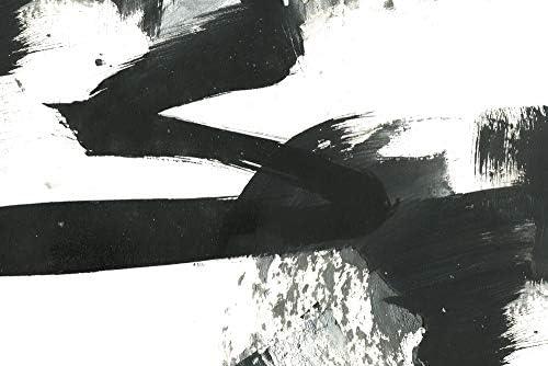 絵画 アートパネル ブラックアンドホワイトペイントストロークテクスチャ アート 壁掛け 飾る キャンバス リビング 玄関 インテリア プレゼント ギフト モノトーン