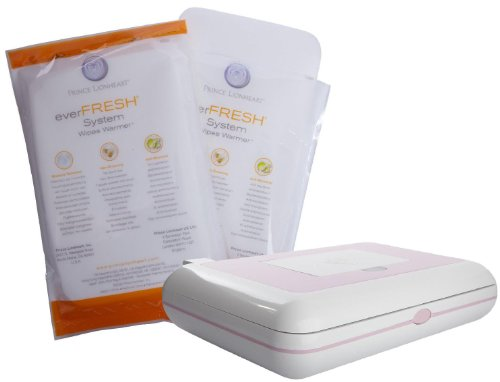 Prince Lionheart Travel Wipes Warmer w/ Replacement Pillow - Pink