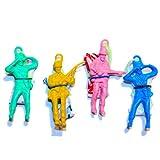 Toy Cubby Assorted Colors Vinyl Alien Realistic