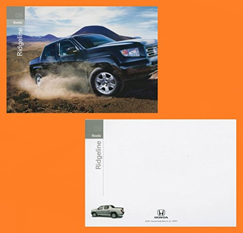 2008 HONDA RIDGELINE PICKUP VINTAGE FACTORY COLOR POSTCARD - USA - FABULOUS ORIGINAL POST CARD !!