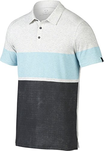 Oakley Mens Conquer Polo Shirt Large - Clothing Mens Oakley