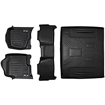 Amazon Com Smartliner Floor Mats 2 Rows And Cargo Liner
