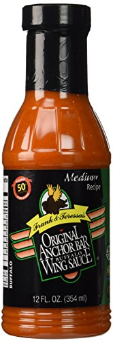 (Anchor Bar Sauce Wing Original, 12 oz )