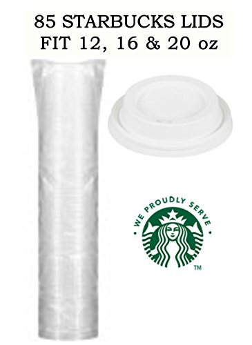Starbucks Coffee Cup Lids 12-20 oz Size Pack of 85 Lids