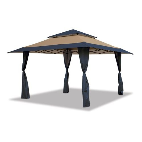 Blue Canopy Gazebo - Mosaic 13' x 13' Pop-Up Gazebo Canopy (Blue)