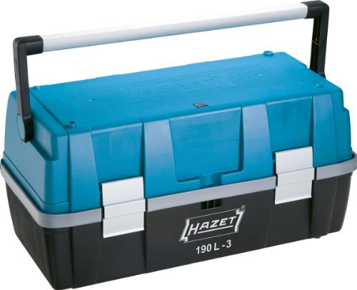 Hazet 190L-3 Plastic Tool Box by Hazet