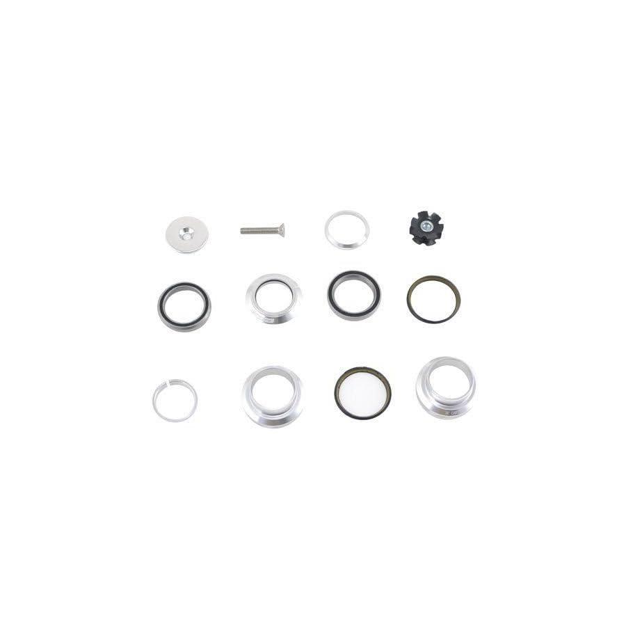 "FSA Orbit MX 1 1/8"" Threadless MTB Road Headset with Top Cap, Silver #XTE1508"
