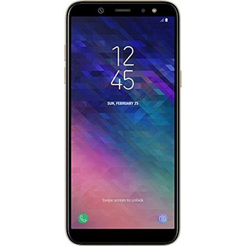 "Samsung Galaxy A6 Plus (SM-A605F/DS) 64GB Gold, Dual Sim, 6"" Display, 24MP Front Camera, Dual Rear Camera 16MP+5MP, GSM Unlocked International Model, No Warranty"