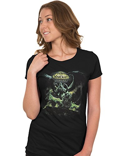 JINX World of Warcraft: Legion Women's Lord of Outland Premium Cotton/Poly T-Shirt
