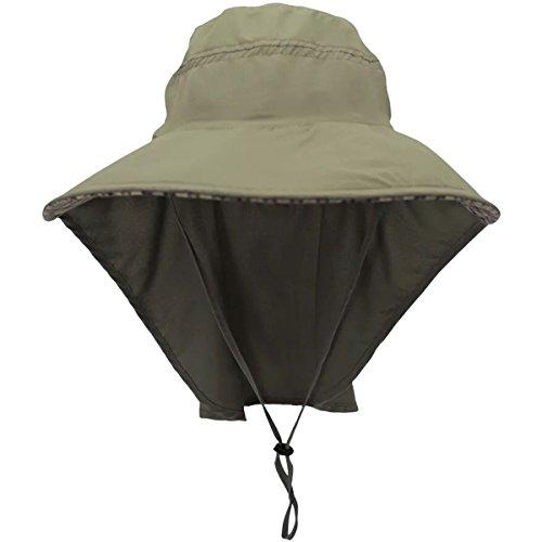 outdoor sun cap camouflage bucket mesh boonie